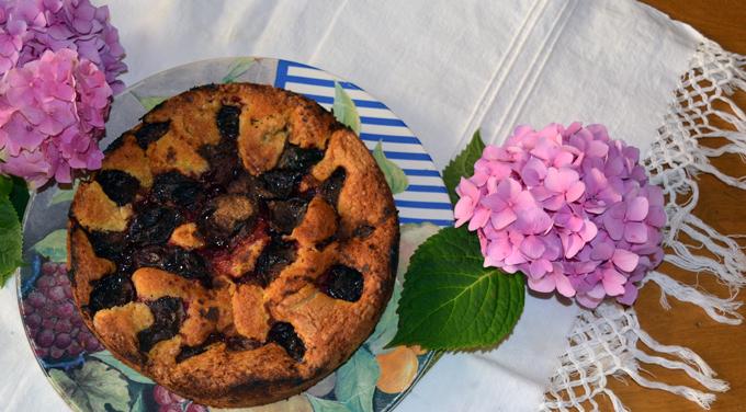 Original Plum Torte | labellasorella.com
