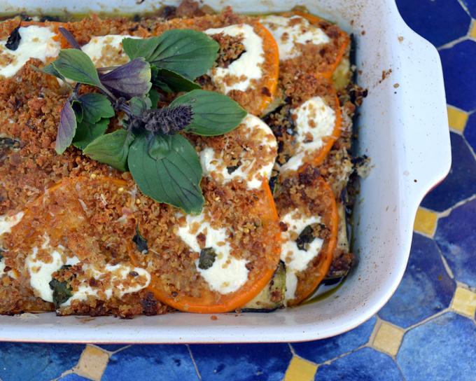 Summer Zucchini Parmigiana | labellasorella.com