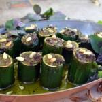 Zucchini Stuffed with Pesto – Zucchini Ripiene di Pesto