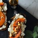Bruschetta with Butternut Squash – Bruschetta di Zucca