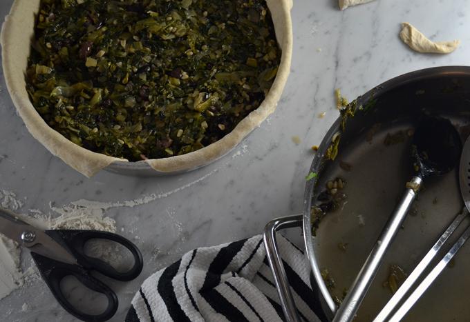 Filled with the flavorful escarole | labellasorella.com