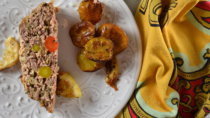 Veal Polpottone or Veal Meatloaf| labellasorella.com