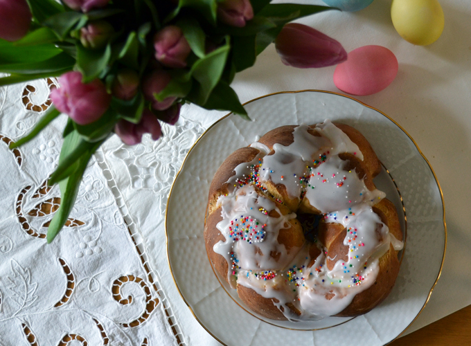 Easter Bread or Pane di Pasqua | labellasorella.com