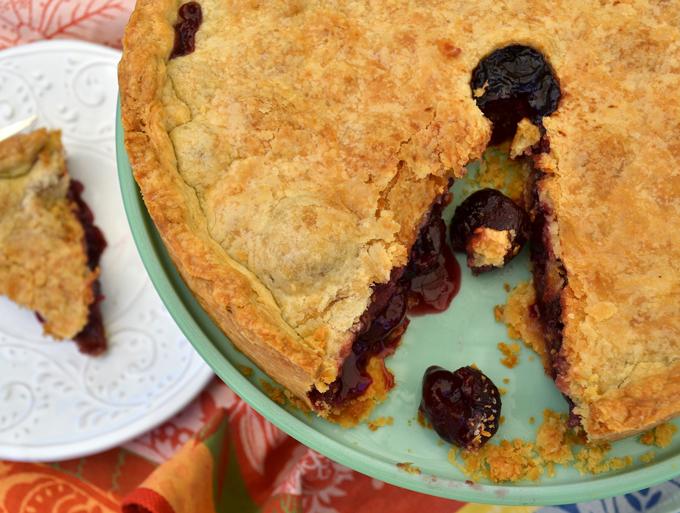 Cherry Tart - Crostata di Ciliegie | labellasorella.com