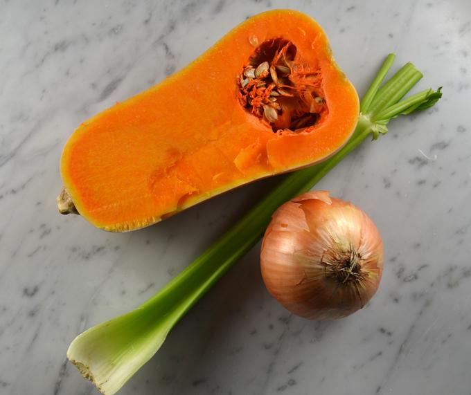 The basics for Chickpea & Pumpkin Soup   labellasorella.com
