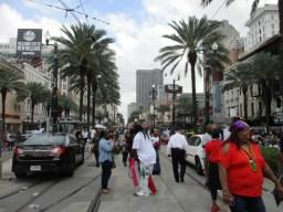 Canal Street am Mardi Gras