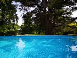 Ons zwembad met reiniging op basis van zouelektrolyse