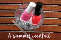 My summer nail polish
