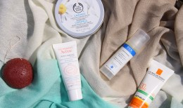 My skincare products for the summer