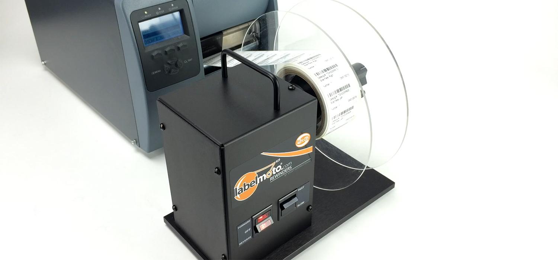 label rewinder