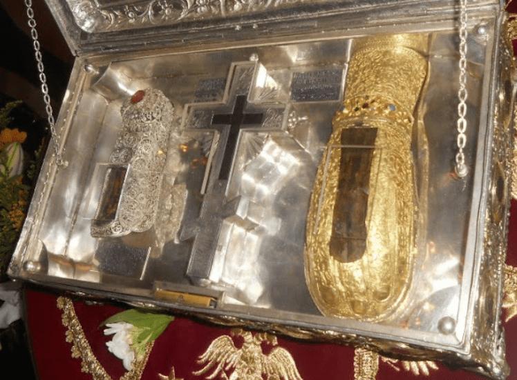 Αποτέλεσμα εικόνας για Tο άφθαρτο χέρι της Αγίας Μαρίας της Μαγδαληνής