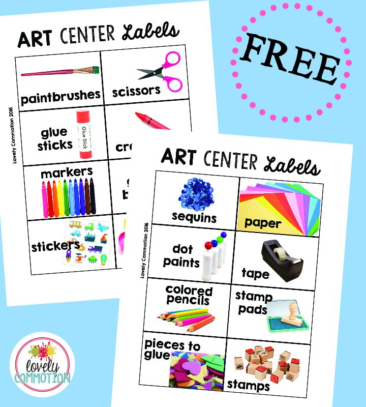 photograph about Free Printable Classroom Labels for Preschoolers named No cost Printable Preschool Clroom Decorations Why Santa Claus