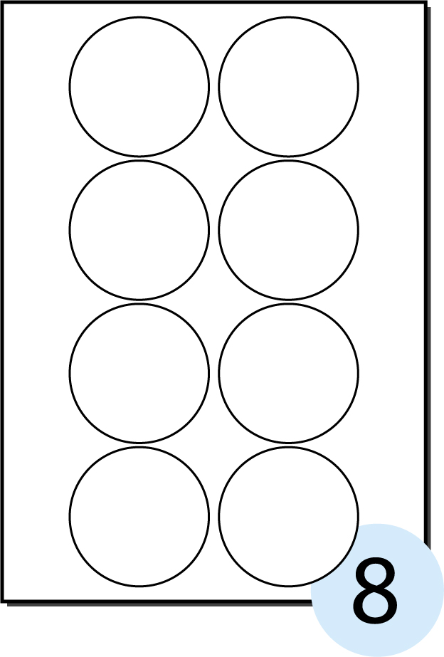 1 Inch Circle Sticker Template