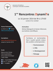 Affiche Rencontres DynamiTe 2014