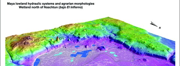 """""""Ancient Lowland Maya Complexity as Revealed by Airborne Laser Scanning of Northern Guatemala"""", un article à retrouver dans Science"""