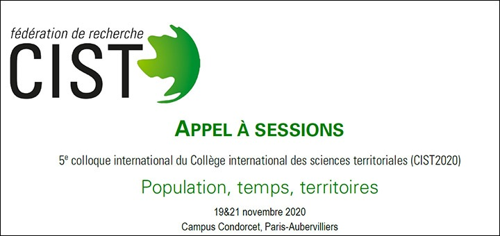 Appel à sessions - Colloque CIST