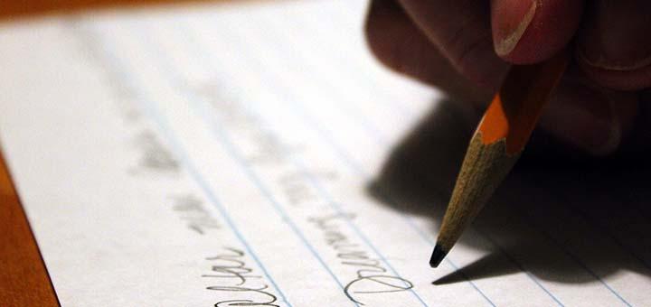Écriture à la main