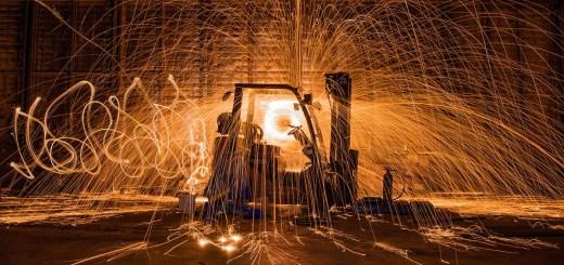 Forklift Explosion