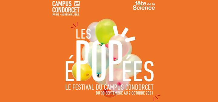 Logo des éPOPées du Campus Condorcet