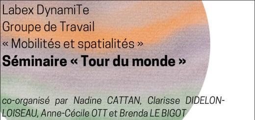 """Logo séminaires """"Tour du Monde"""""""