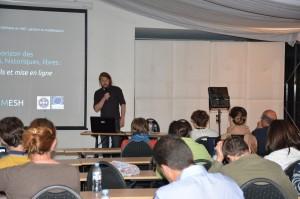 44 - Conférence « Tour d'horizon des données spatiales, historiques, libres : pratiques, outils et mise en ligne » (Eric GROSSO)