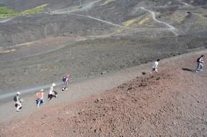 63 - Sortie de terrain sur l'Etna