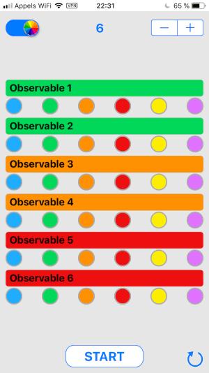Compteur OTP - Choisir la couleur