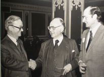 Henry Regnery, Russell Kirk, and Louis Dehmlow