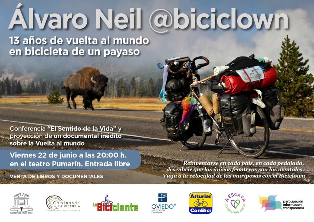 Charla del Biciclown - Oviedo 22 de junio 2018