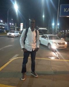 Labi Francis in Kenya