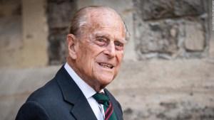 El príncipe Felipe de Reino Unido, esposo de la reina Isabel II