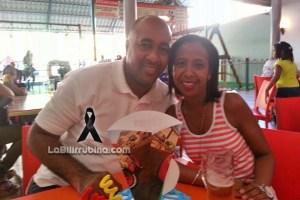 Alejandro Durán y su esposa Joaquina Méndez