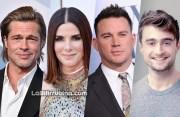 Brad Pitt, Sandra Bullock, Channing Tatum y Daniel Radcliffe