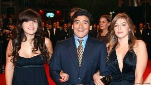 Dalma, Diego y Gianinna Maradona