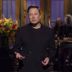 Elon Musk en 'Saturday Night Live'