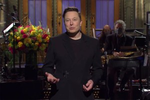 Elon Musk en 'Saturday Night Live'
