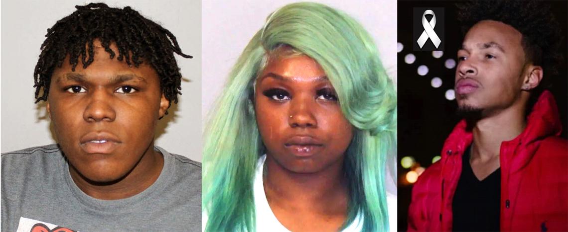 Omire Ríos Williams y su cómplice Shianne Payne Nanton, acusados por el asesinato del rapero Emmanuel García ((Ezy Mny)