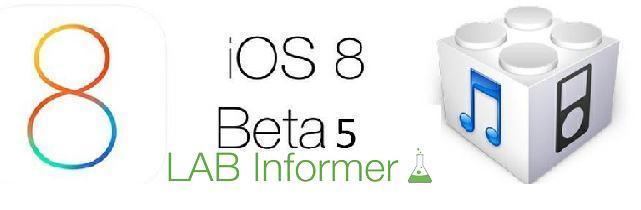Apple rilascia la beta 5 di iOS 8