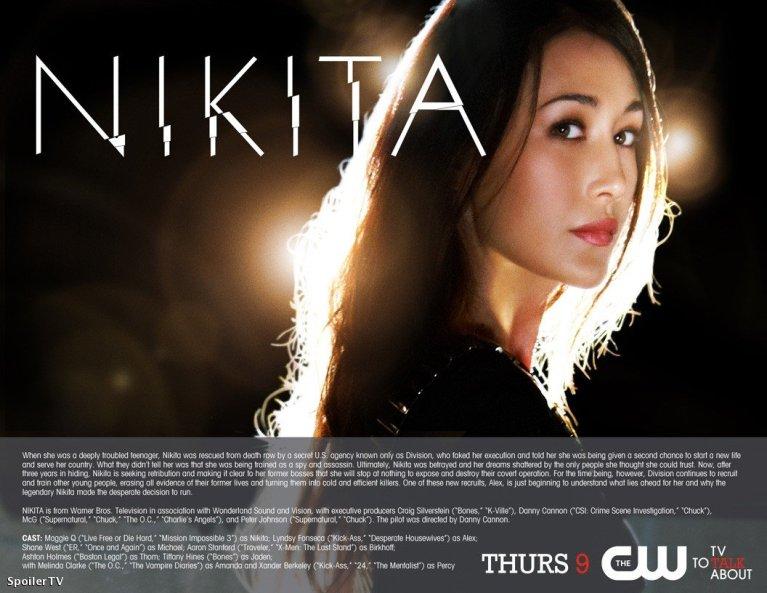 #TVMANIA 1: Nikita, la serie del 2010