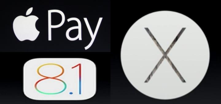 iOS 8.1, Apple Pay e Yosemite