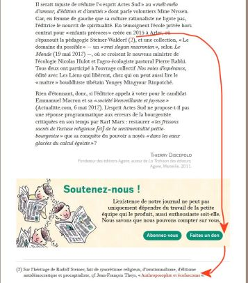 ART MONDE DIPLOMATIQUE ET NOTE