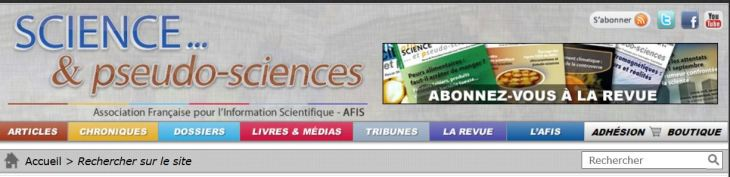 science et pseudo-science