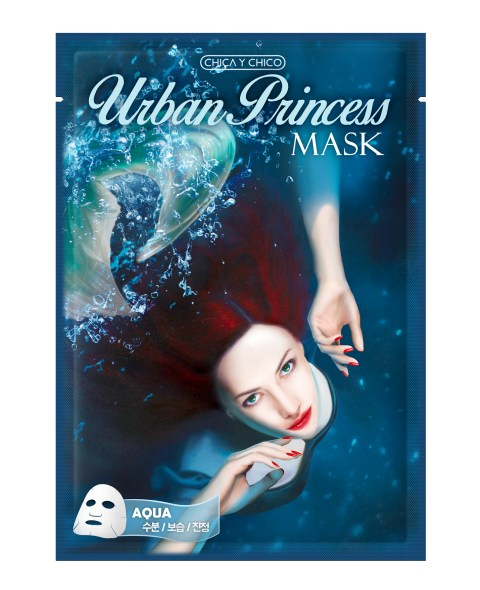 urban princess mask sheet of Chica y Chico