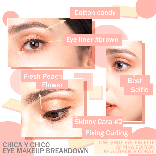 Chica y Chico Eye Makeup Breakdown