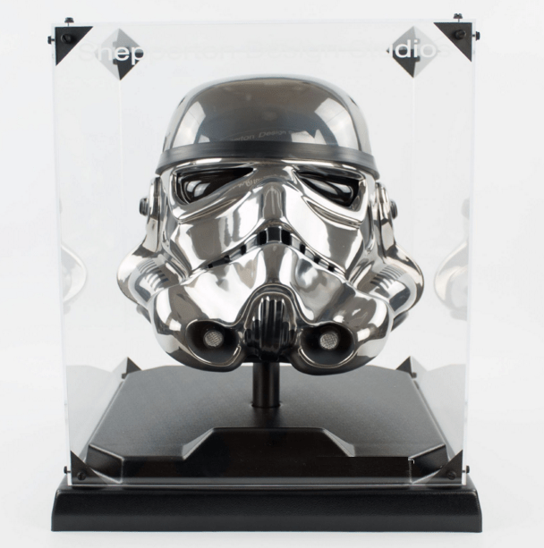 Casque Stormtrooper Chrome