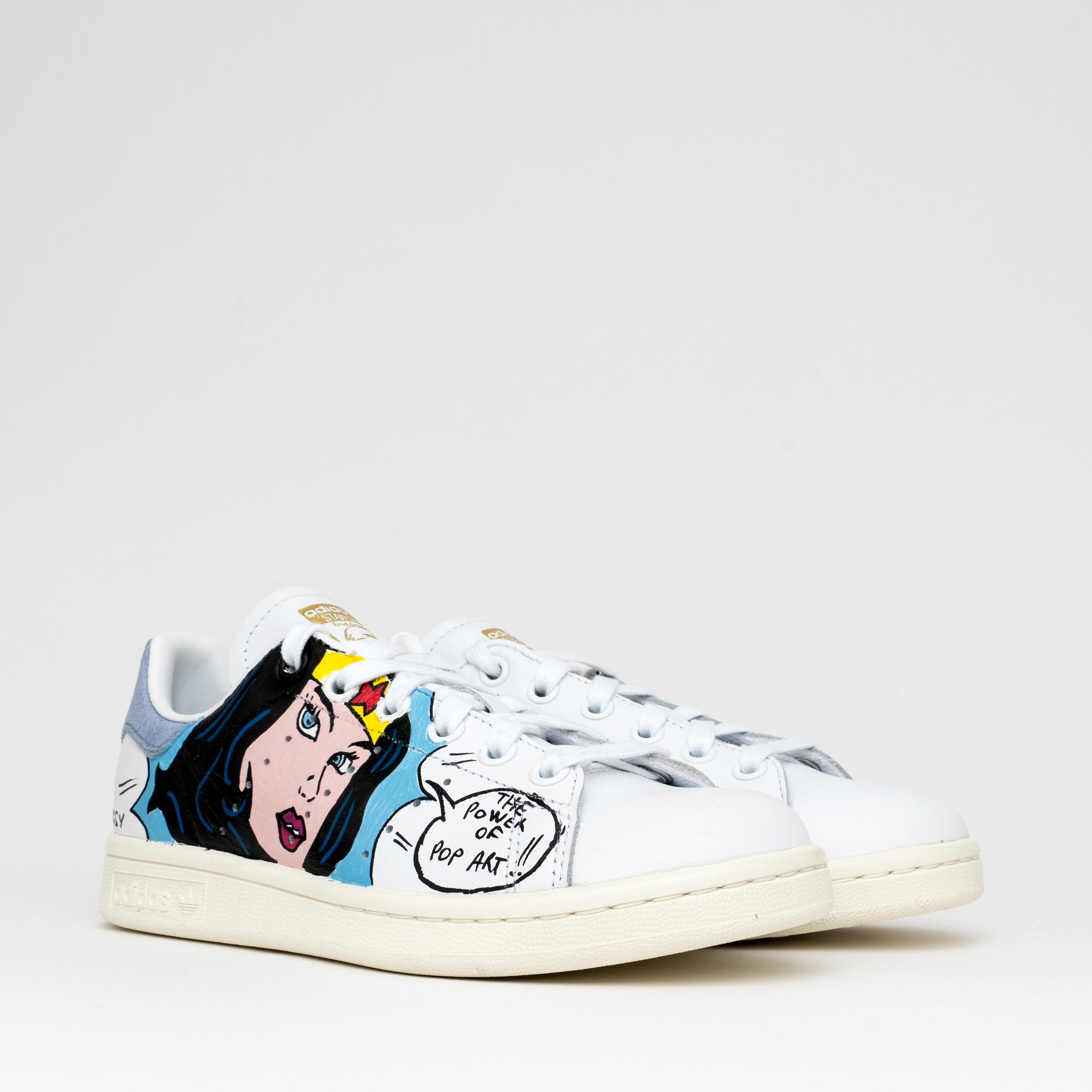 sports shoes ac801 864cf Adidas Stan Smith x Debsy : Wonder Woman