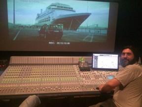 El montador y diseñador de sonido Nacho Arenas