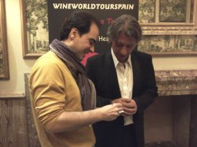 Aquí con Julio Mazziotti