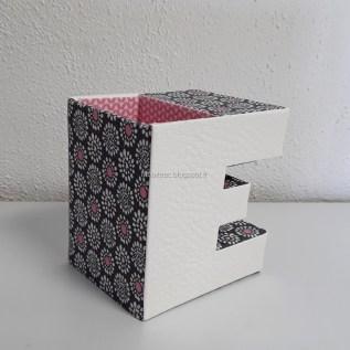 Pot à crayons Alphabet 30-Michelle T