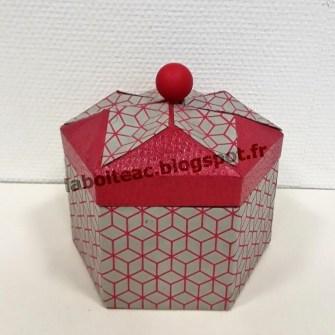 Boite Origami revisitée 15-Josette L